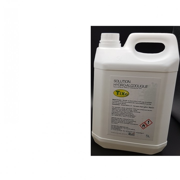 7791/5: Solution hydroalcoolique en 5L.